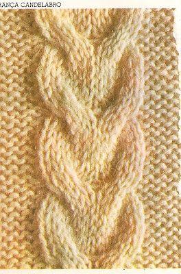 Netelu Artes: Tranças em tricô