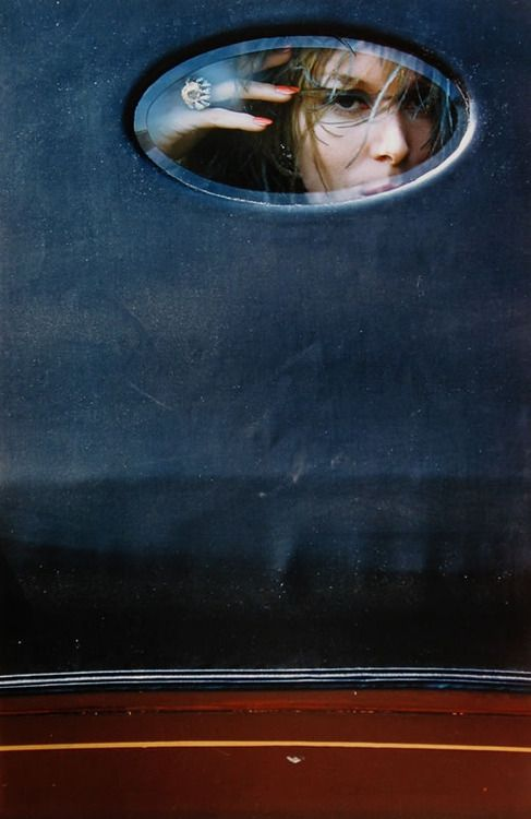 Saul Leiter photo with ring by Jean Schlumberger for Tiffany