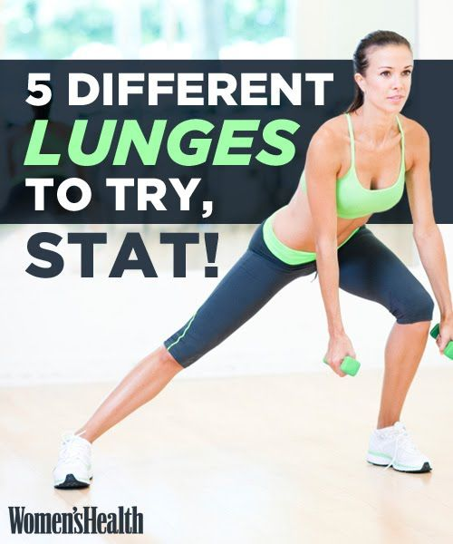 5 Different Lunges to Try | Women's Health Magazine