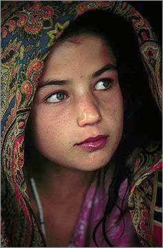 Dardic Girl, Afghanistan