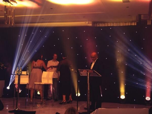 Tweet: Burger King team scoops #prisms14 gold for Launch of a new product. Go girls!