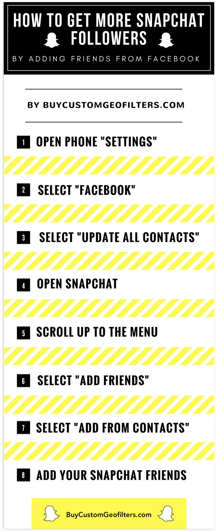 How To Get More Snapchat Followers By Adding Friends From Facebook