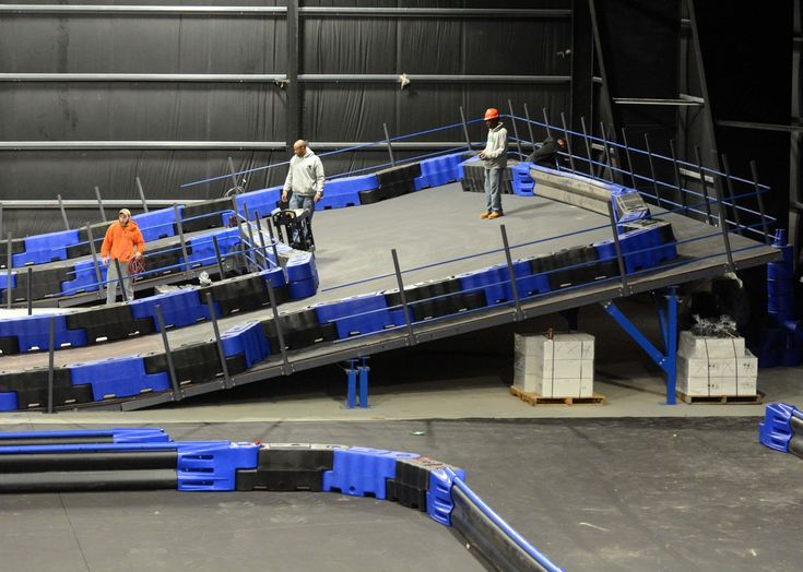 @NaskartRacing's Indoor gokart track and trampoline park almost ready to rev up Connecticut's entertainment industry