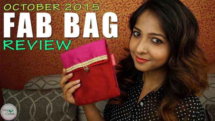 https://www.youtube.com/watch?v=GfkXil_dodw  #youtube #video #fabbag #beautybag #beautybox #review
