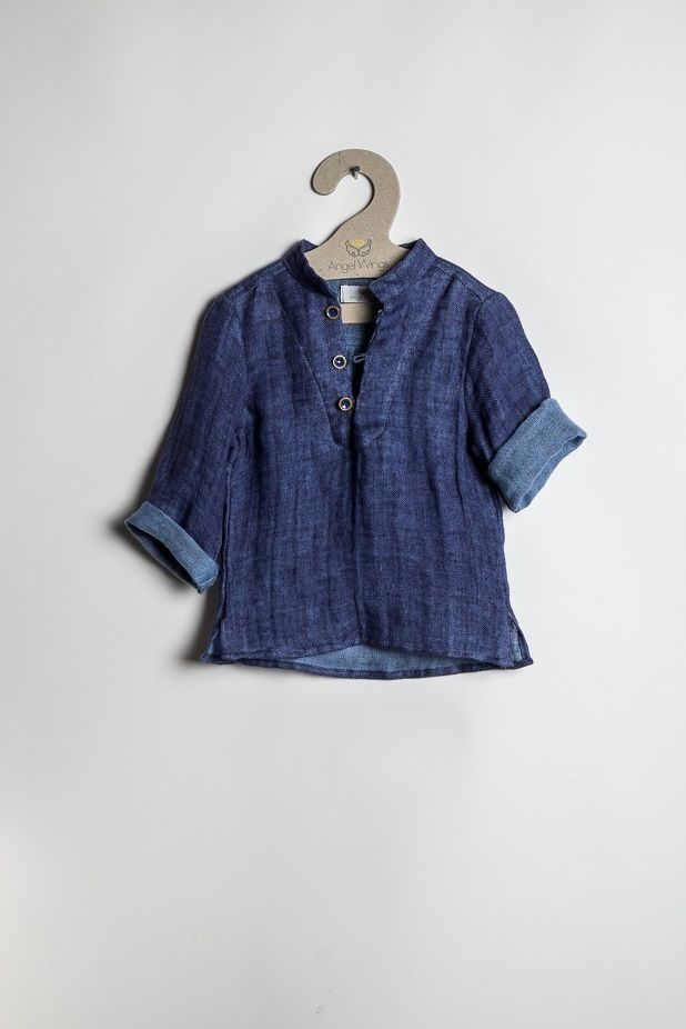 linen Shirt for boys ~ by Angel Wings   Discover our new S/S 2015 Collection!