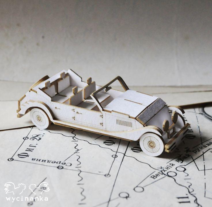 lasercut car