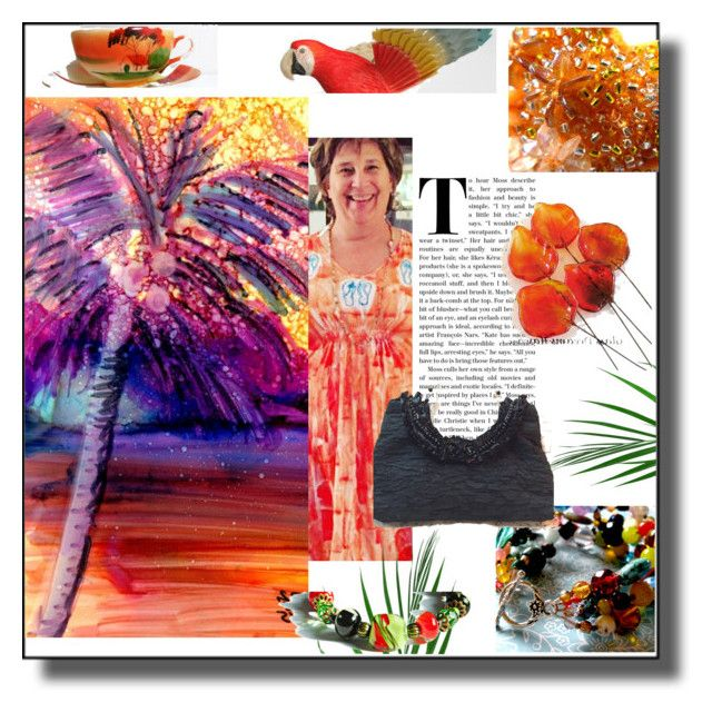 Colorful Etsian World by sabine-promote on Polyvore featuring Mode