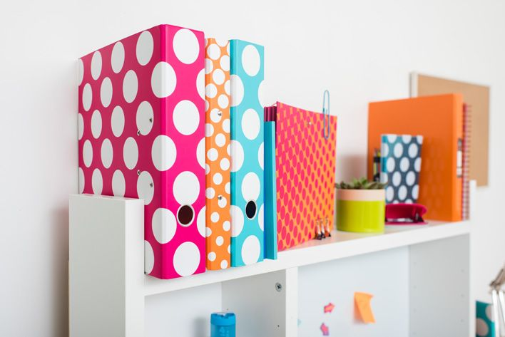 New! Polka Dot Back to School Stationery