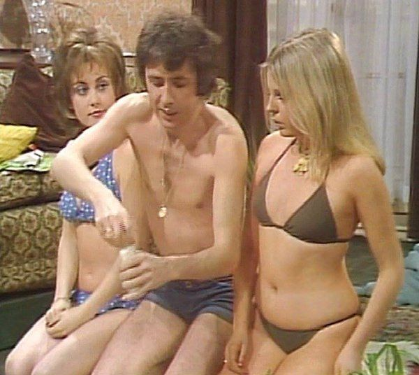 Paula Wilcox, Richard O'Sullivan & Sally Thomsett