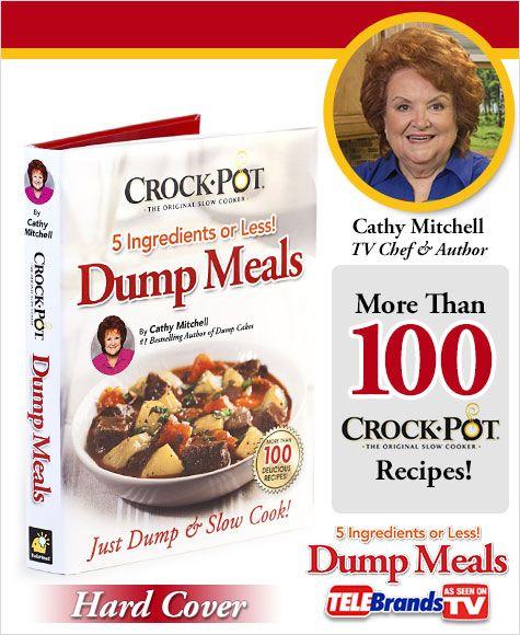 Enter to #win Crock Pot Dump Meals! Jan. is Slow Cooker Month! :)
