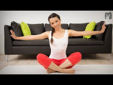 Pilates Schulter & Nacken Quickie Workout - YouTube