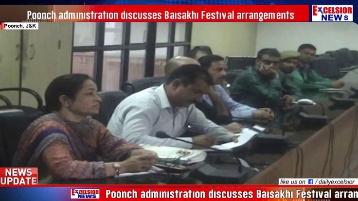 Poonch administration discusses Baisakhi Festival arrangements