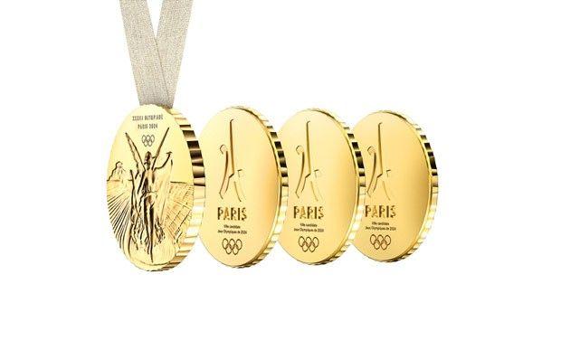 Philippe Starck cria medalha para os Jogos Olímpicos 2024 (Foto: Divulgação)