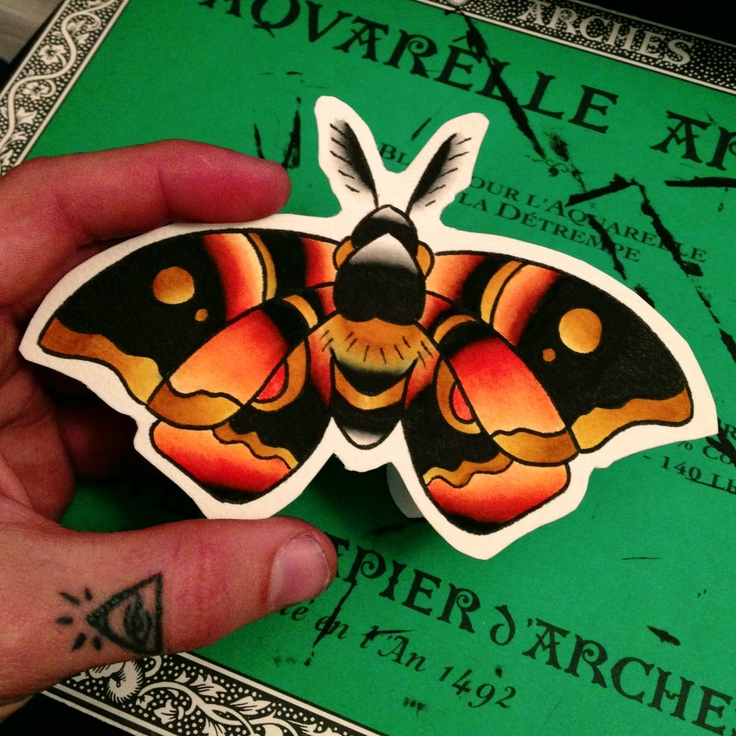 Moth Tattoo. Very valid possibility.