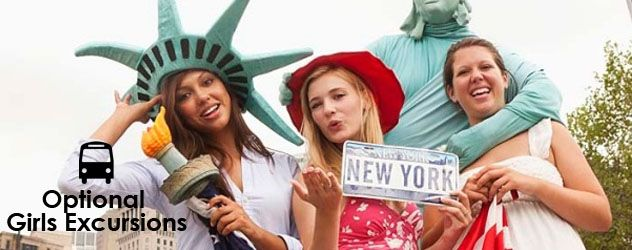 Interested in a Girls' Getaway in New York City. Tour details, Tour dates, and itinerary are on our website and the link above. Just click on the picture.