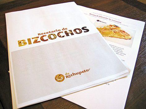 Recetas de bizcochos - Recetasderechupete.com