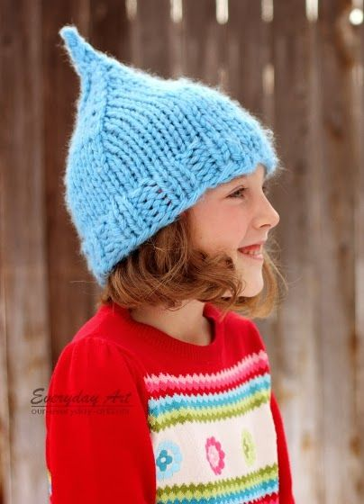 Elf Hats: Meathead Hat Pattern Review by Everyday Art #knitting #hat