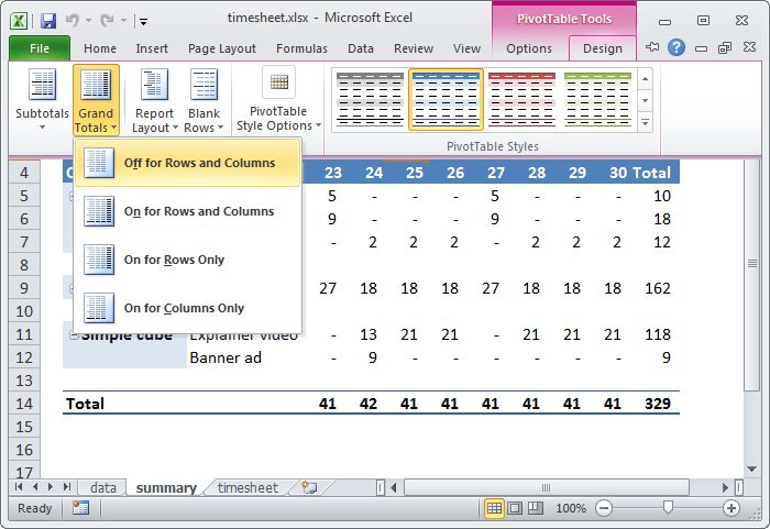 23 things you should know about pivot tables | Exceljet