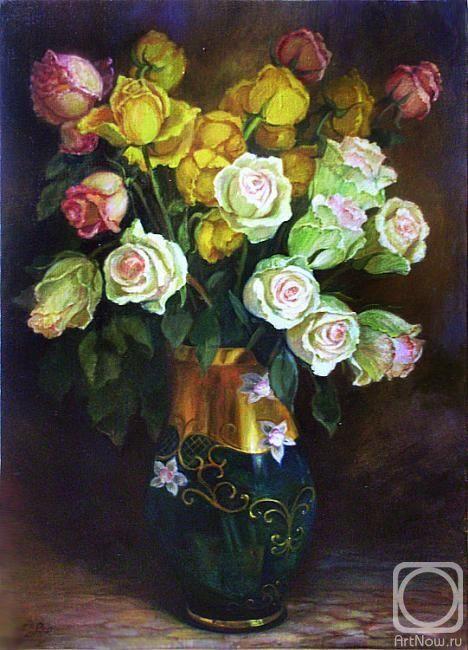 Шумакова Елена. Розы