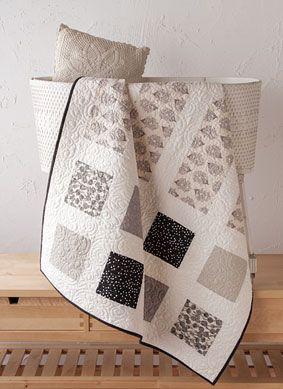 Brioche & Baguette Crib Quilt Kit