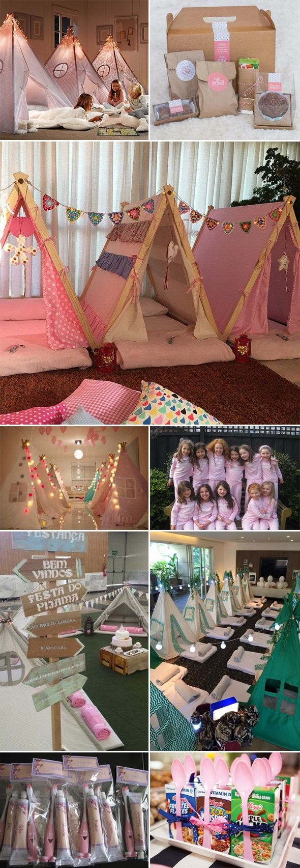Cutest sleepover idea