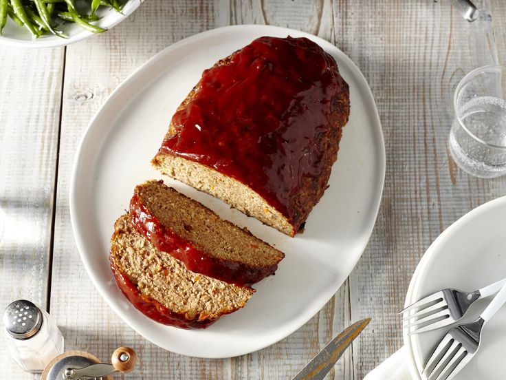 Master Turkey Meatloaf | This is the ultimate, foolproof, turkey meatloaf that is every kind of comforting that you would want a meatloaf to be. This just may be the only meatloaf recipe you'll ever need. Not only is this dish absolutely delicious, but it's also gluten-free. This flavorful meatloaf features bacon for added flavor and richness, and includes a special factor with a trio of tomato sauces and condiments to create an updated version of the traditional meatloaf topper. To make…