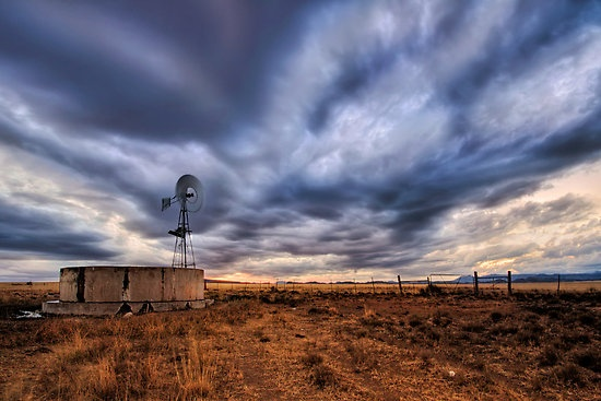 A windmill in the Karoo by Robert Southey