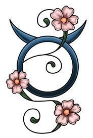 girlie taurus tattoos - Google Search