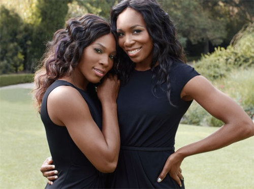 sisterly love - Venus & Serena Williams