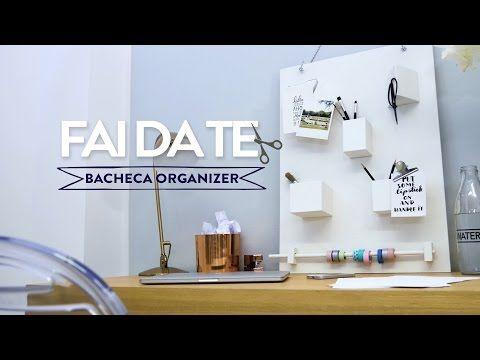 Una bacheca portaoggetti per organizzare la scrivania | Dalani