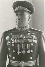 Kreizer Yakov Grigorievich (November 4, 1905 - November 29, 1969) - Soviet military commander, Army General (1962), Hero of the Soviet Union. Commander 3th, 57th, 2nd Guard and 51th Soviet Armies in WWII.
