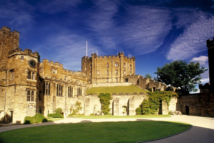 Standing side by side on a prominent hill top site and encircled by the wooded slopes of the meandering River Wear, the Castle overlooks the medieval City of Durham with its fascinating narrow streets. to find out more about the wonders of the castle visit: http://www.thisisdurham.com/things-to-do/durham-castle-tours-p22901