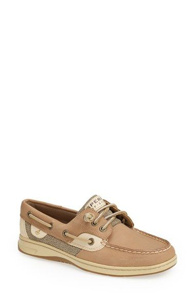 Free shipping and returns on Sperry Top-Sider® 'Ivyfish' Boat Shoe (Women) at Nordstrom.com. Classic nautical lines define a mixed-media boat shoe featuring smart, tonal color blocking and a signature wave-siped sole for enhanced wet/dry traction.