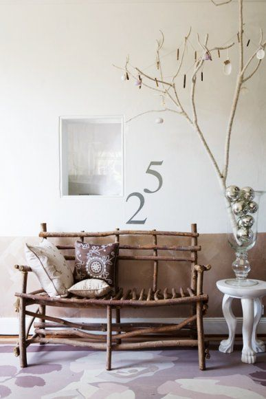 """""""Stick"""" bench w/great pillows...I should have... ;)      (chris court photography)"""