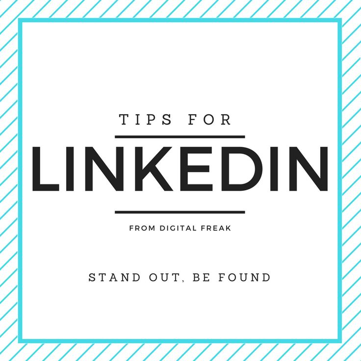 Everything you ever wanted to know about LinkedIn from #DigitalFreak