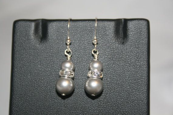 Handmade 'Farah' Swarovski Crystal Pearl by LHadyoonJewellery, £12.00