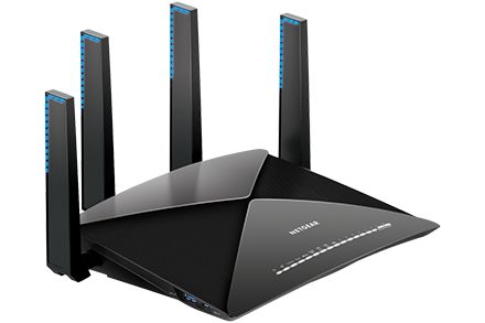 Nighthawk X10 AD7200 Smart WiFi router is industry's fastest router for media streaming with Plex media server. Nighthawk X10 with 802.11ac and 802.11ad WiFi technology delivers ultra-smooth 4K streaming, VR gaming and instant downloads. With a powerful 1.7GHz Quad-Core Processor and Quad-Stream architecture, you can enjoy combined wireless speeds of up to 7.2Gbps†. MU-MIMO supports simultaneous streaming, while 160 MHz doubles WiFi speeds to mobile devices. Four patent pending external…