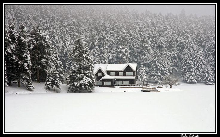 The Winter In Bolu.. - Golcuk, Bolu