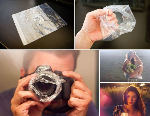 """Get a hazy image effect with a sandwich bag"" ! ! !"