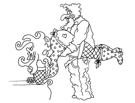 the plow funny sexy coloring pages for adults from the chubby art cartoon colouring book for sex maniacs 50 kama sutra positions - Sexy Coloring Book