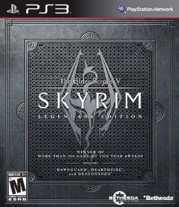 The Elder Scrolls V: #Skyrim Legendary Edition - #Playstation3 - Live Another Life, In Another World: Play any type of character you can imagine, and do whatever you want; the freedom of choice, storytelling, and adventure of The Elder Scrolls comes to life in one legendary experience from all three official add-ons.