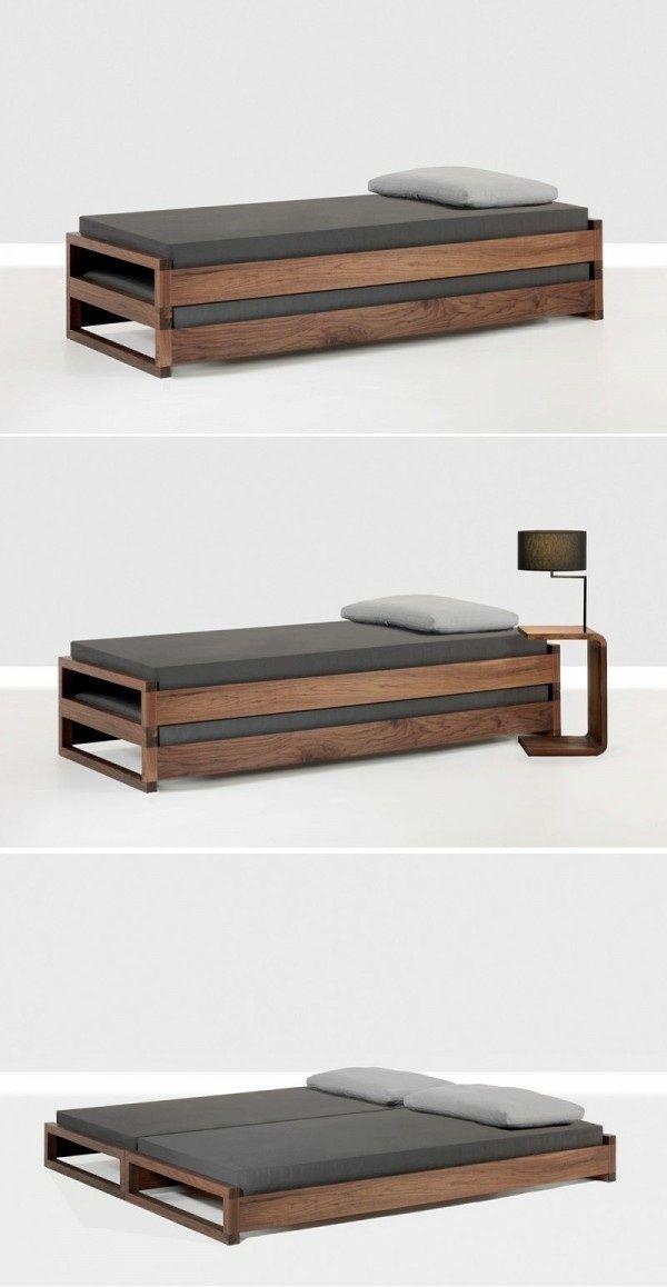 Wie man Platz für ein Bett zu Hause spart – Dekoration ideen 2019