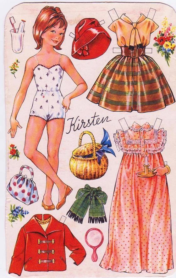Danish OTA Doll, Kirsten.