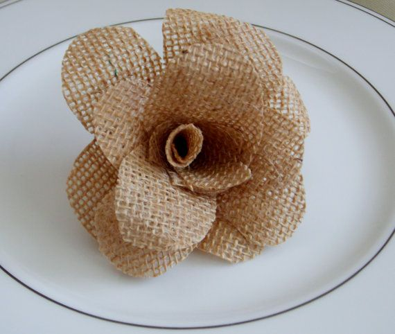 Hey, I found this really awesome Etsy listing at http://www.etsy.com/listing/176698129/burlap-wedding-decor-rustic-flowers