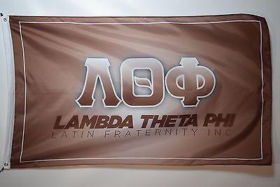 Lambda Theta Phi 9 Latin Fraternity Officially Licensed Flag 3x5