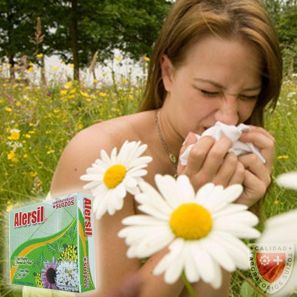 Alersil, es un medicamento eficaz y seguro para todas las edades. Su exclusiva fórmula contiene múltiples componentes naturalmente extraídos de plantas utilizados por la homeopatía.  Alivio de estados alérgicos cutáneos, del sistema respiratorio, irritación de la nariz, ojos llorosos y picazón.