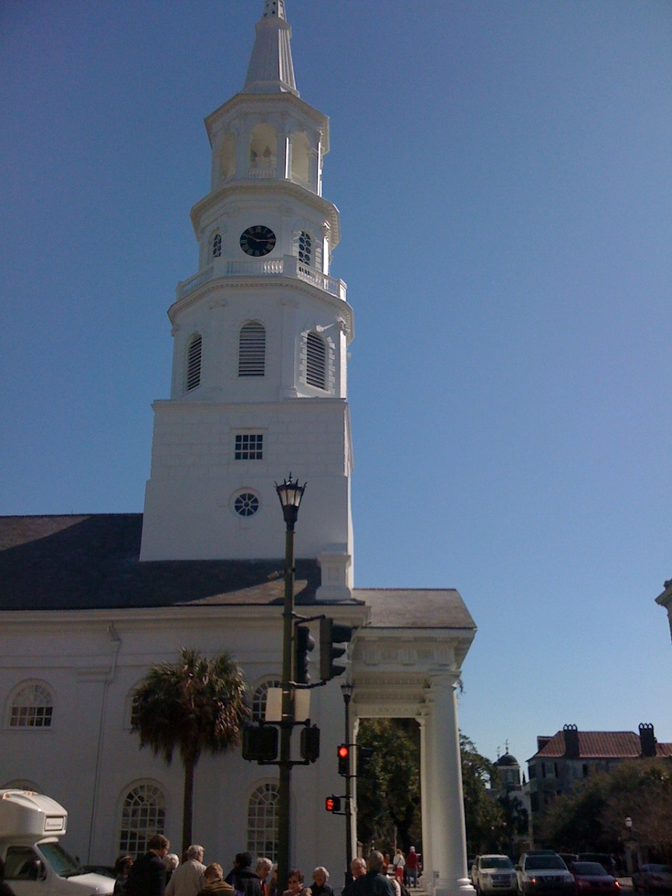 Charleston, SC in the spring...gorgeous place to visit... go during the wine and food festival!