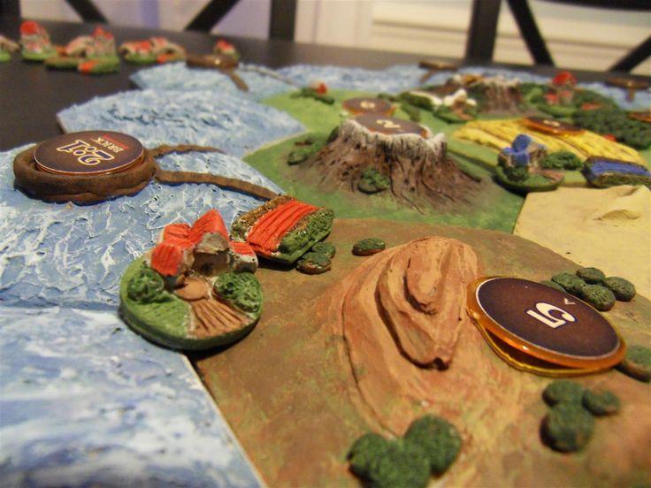 Homemade catan board... Amazing! Catan board, Catan