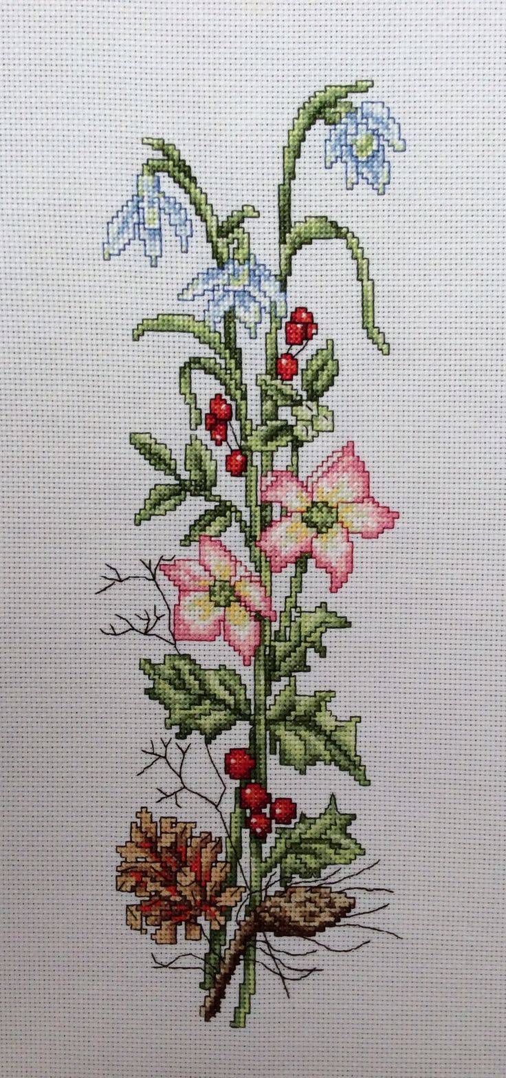 Designed by Wm Briggs & Co                    Cross stitched by Teresa