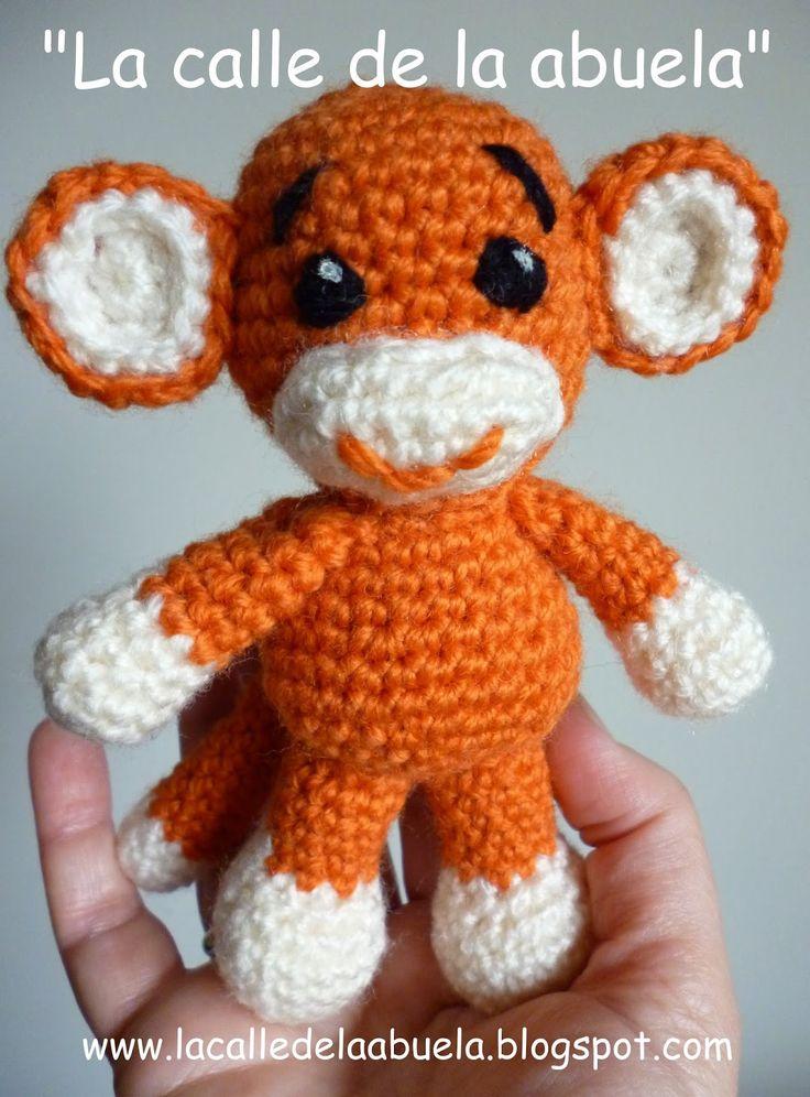 Amigurumitogo Little Bigfoot Monkey : 17 Best images about